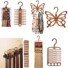 Hanger Rack Holder Closet Organizer Home Storage Belt Necktie Scarf Muffler Tie