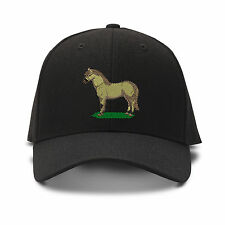 Fjord Horse Embroidery Embroidered Adjustable Hat Baseball Cap