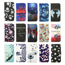 PU Leather Phone Case for iPhone LG Samsung Huawei Sony Protective Wallet Cover