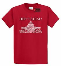 Don't Steal Government Hates Competition Funny T Shirt Political Humor Tee