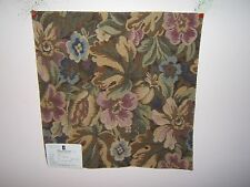 Duralee fabric remnant for crafts floral Floral Tapestry multiple colors