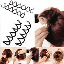 Lady's Beauteous Spiral Spin Screw Design Pin Hair Clip Twist Barrette SE