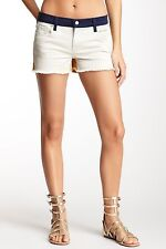 "BNWT GENETIC DENIM LADIES THE IVY LOW RISE CUT OFF SHORTS HOT PANTS W 24"" 27"""