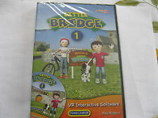 LITTLE BRIDGE 1 contains VR interactive software & Audio CD  (R49) {CD-ROM}