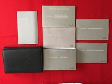 2012 Infiniti M Hybrid Factory Owners Manual Set and Case