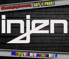 Car Sponsor Injen Technology Funny Vinyl Sticker Decal Graphic Car Truck Wall