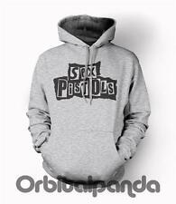 Grey Hoodie with THE SEX PISTOLS design - johnny rotten sid vicious pil