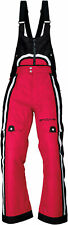 Arctiva Womens Magenta Pink/Black Gem Insulated Snowmobile Bibs/Pants