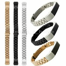 Stainless Steel Accessory Watch Band Link Bracelet For Fitbit Alta (No Tracker)