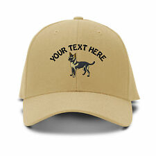 Your Text Here Custom Chihuahua Embroidered Adjustable Hat Baseball Cap