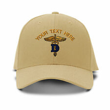 Your Text Here Custom Dentist Embroidered Adjustable Hat Baseball Cap