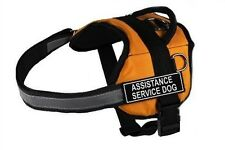 "Dean & Tyler DT Works ""Assistance Service Dog"" Dog Harness, Fits Girth Size 25-I"