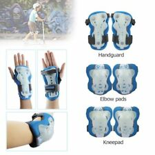 Kid Cycling Roller Ski Skating Knee/Elbow/Wrist Guard Protective Gear Pad 2Color