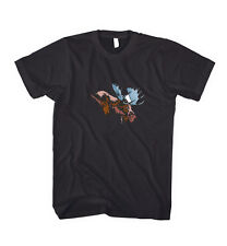 Moose Animal Unisex Cotton T-Shirt Tee Shirt Top