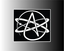 Atheist Sign - Two Sizes To Choose From Bumper Sticker Decal