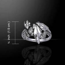 Noble DRAGON Wrap Silver RING - Captures the spirit of the Dragon