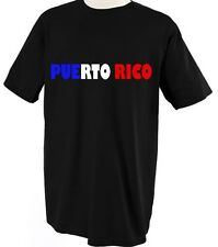 PUERTO RICO COUNTRY FLAG PRIDE Unisex Adult T-Shirt Tee Top