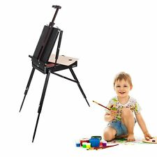 Portable Folding Artist Painting Sketch Box Wooden Easel Stand Display Holder