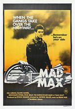 MAD MAX Mel Gibson . Classic Movie Poster A1A2A3A4Size