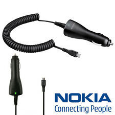 100% Genuine Nokia Lumia 510 600 700 710 800 900 920 1020 in Car Charger DC-6