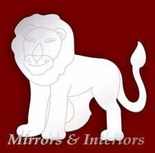 Acrylic LION Etched Mirror Nursery *PERSONALISED4FREE*