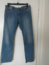 "NWT HUGO BOSS ""MAINE"" MENS JEANS REGULAR FIT ZIP FLY STRETCH COTTON BLEND $165+"