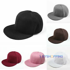 Unisex Fashion Visor Snapback Hip-hop Hat Flattened Hat Adjustable Baseball Cap