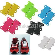 Novelty Magnetic Casual Sneaker Shoe Buckles Closure No Tie Shoelace NEW