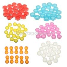 10 x Plastic Travel Care Contact Lens Holder Storage Soaking Box Cases Set L+R