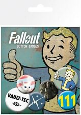 Fallout 4 Vault-Tec Badge Pack 10x15cm