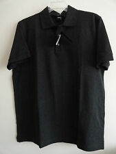 NWT HUGO BOSS FERRARA MENS POLO SHIRT DARK GRAY Sz XL