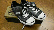 Girls Youth Converse All Star Shoes Chuck Taylor CT Mega Thg Ox Black/White