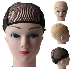 Nylon Elastic W/Ear Wings Elastic Mesh Hair Nets weaving Wig Cap for Wig Making