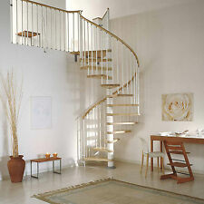 Arke Fontanot Klan Spiral Staircase - Top quality stair with solid beech treads
