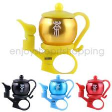 Teapot Design Bike Bicycle Cycling Handlebar Bell Horn Ring Safety Sound Alarm