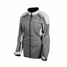 Scorpion Womens Grey Zion XDR Vented Textile Motorcycle Jacket