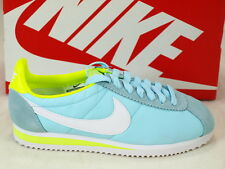 Nike Wmns Classic Cortez Nylon Ice White Volt Casual Shoes 457226-410