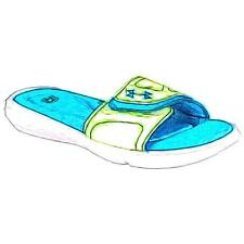 Under Armour Ignite VII Slide - Girls' Primary Sch. Casual Shoes (Osmosis/WT/Xr
