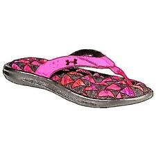 Under Armour Marbella V Thong - Girls' Primary Sch. Casual Shoes (Mojo PK/BK/St