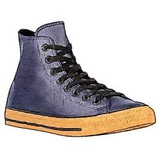 Converse All Star Leather Hi - Men's Basketball Shoes (Inked Gum Width:Medium)