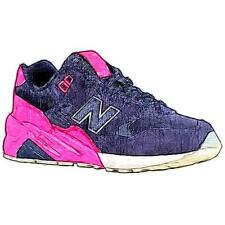 New Balance 580 - Girls' Primary School Running Shoes (Navy/Pink)