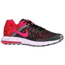 Nike Zoom Winflo 2 - Men's Running Shoes (BK/Anthracite/WT/Bright Crimson Width