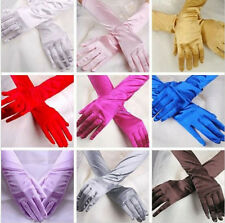 Prom Evening Party Wedding Gloves Satin Opera New Bridal Long Gloves Costume