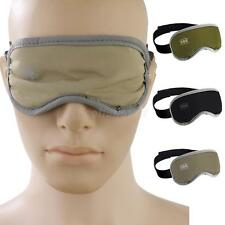 Eye Sleeping Mask Travel Blindfold Shade Blinder Green/Black/Khaki
