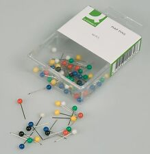Map Pins 15mm length (Box of 60) - Top Quality