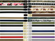 Military Web Belts 100% Cotton Camo Military Wear Web Belts