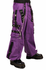 TRIPP NYC PURPLE STUD BONDAGE PANTS CHAINS EMO GOTH SKATER PUNK ROCK  XS-3XL