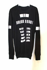 11 by boris bidjan saberi bbs black layering reversible long sleeve t shirt