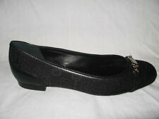 NIB AUTH GUCCI CANVAS Jacquard LEATHER BALLET FLATS SHOES sz 6.5, 7.5, 8.5 or 9