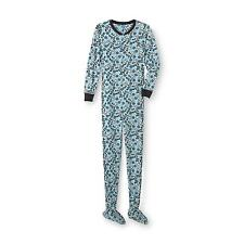 Disney Frozen Olaf 1pc Fleece Footed Pajamas Adult sizes, New w/tags